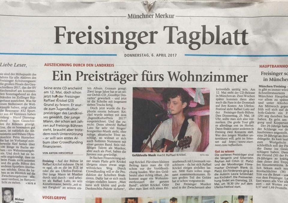 Jugendkulturpreisträger des Landkreis Freising